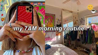 my 7:00AM morning routine :) zhirelle cushman