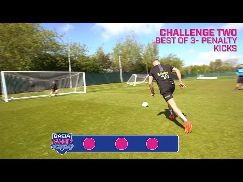 Dacia Magic Weekend: Newcastle United Penalty Challenge