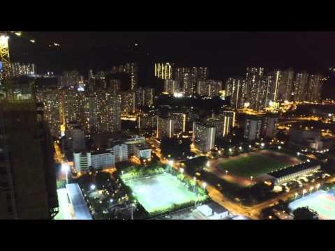 Football training at Kowloon Bay, HK