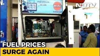 Petrol, Diesel Prices Hiked Today