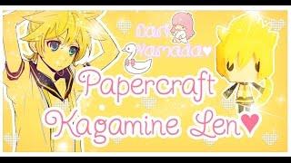 Papercraft Kagamine Len♥