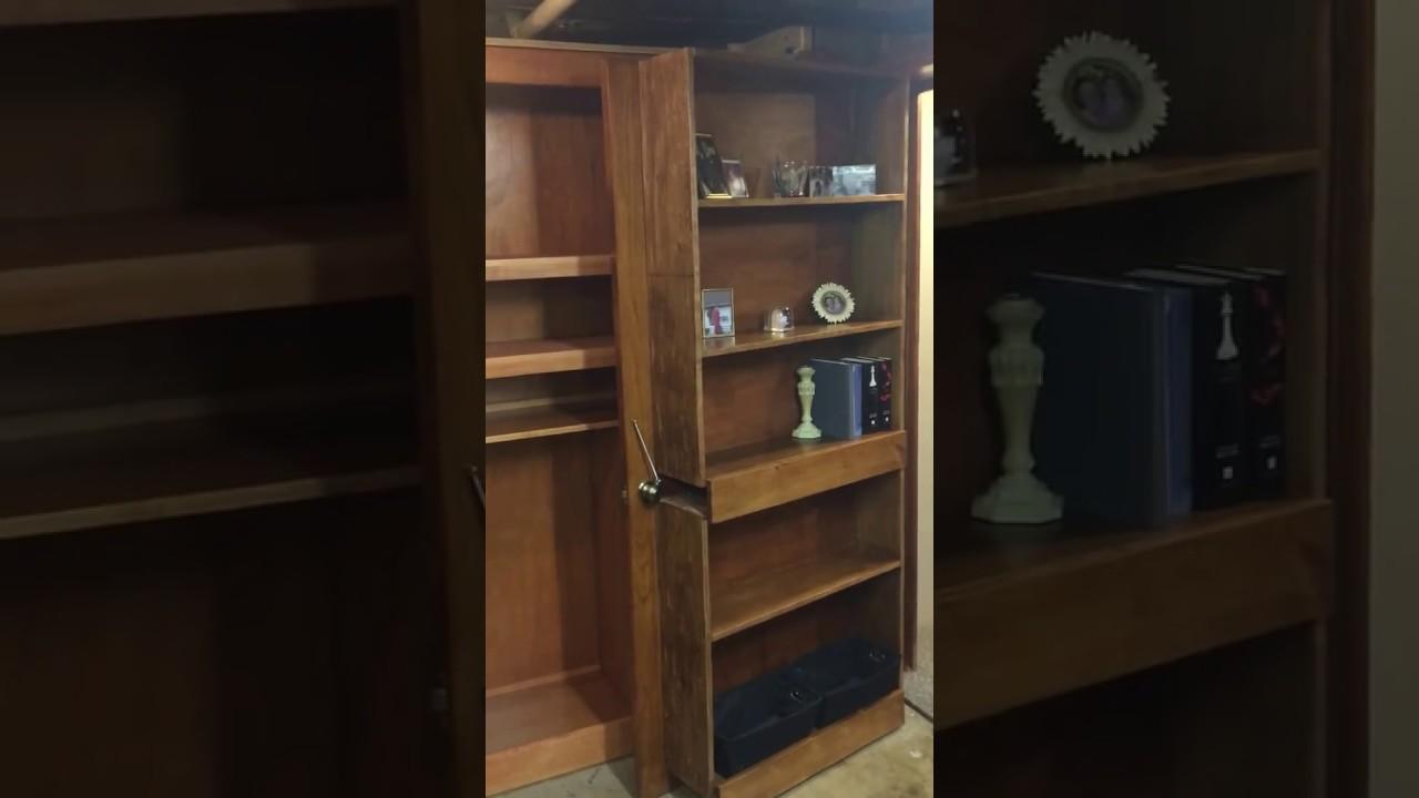 Bookshelf Door   Hidden Room   Man Cave   Murphy Door