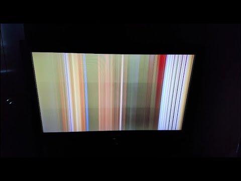 Полосы на экране   как вылечить, быстрый способ