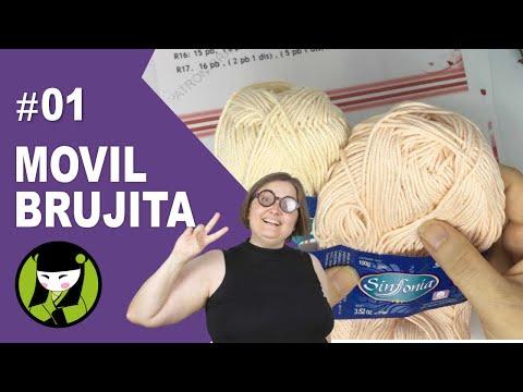 Como tejer una bruja a crochet 1 amigurumi eleccion de materiales y empezamos