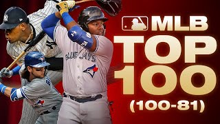 Top 100 Players - No. 100 to 81 | MLB Top 100 (Whe...