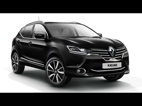 new renault kadjar compact suv doovi. Black Bedroom Furniture Sets. Home Design Ideas