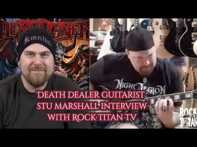 Death Dealer Stu Marshall says new record to be finished April 2019