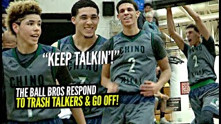 LaMelo, Lonzo & Gelo Ball RESPOND To TRASH TALKERS & Leave Crowd In DISBELIEF! INSANE Tournament Run