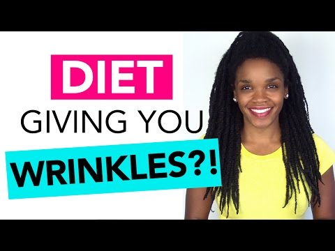Diet Mistakes That Give You Wrinkles + Anti-Aging Foods for Great Skin