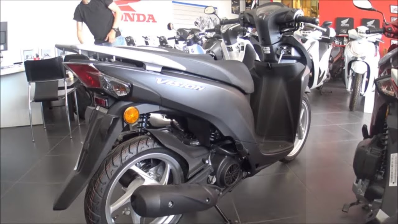 Honda Vision 125cc Scooter 2019 Youtube