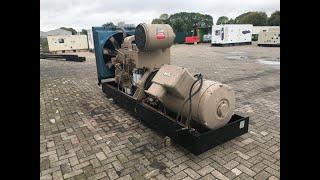 DPX Power: Cummins KT-1150-G - 310 kVA Generator - DPX-11935