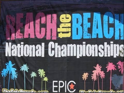 Reach The Beach Cheerleader Championship Daytona Florida You
