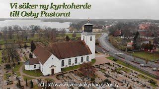 Rekrytering av Kyrkoherde  till Osby Pastorat Dec-2019