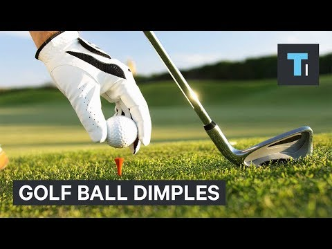 Why golf balls have dimples