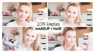 2014 Empties | Products I've Used Up Thumbnail