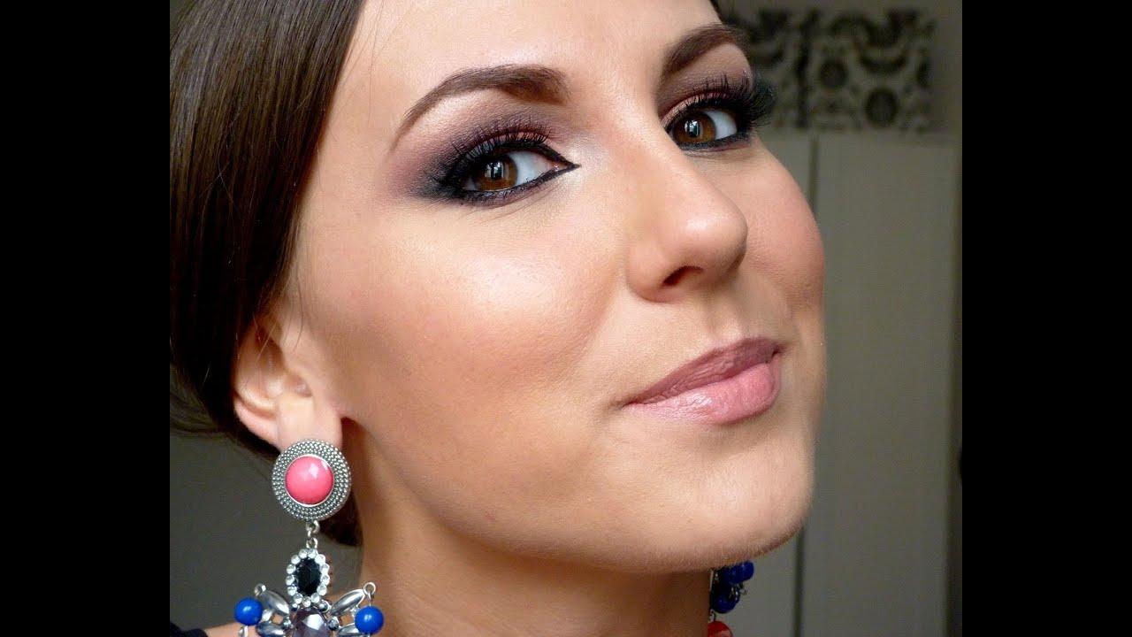 Makijaż Egzotyczne Kocie Oko W Stylu Bollywood Youtube