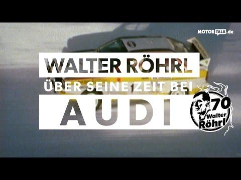 Walter Röhrl und Audi