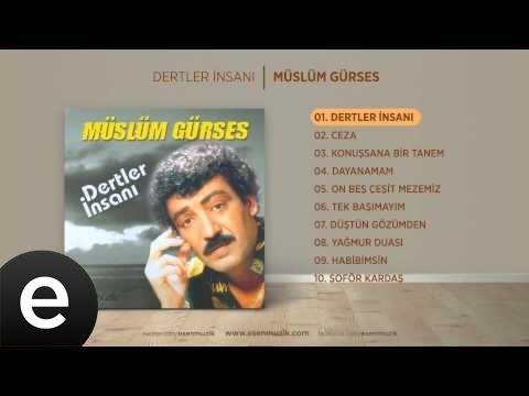 Dertler İnsanı (Müslüm Gürses) Official Audio #dertlerinsanı #müslümgürses - Esen Müzik