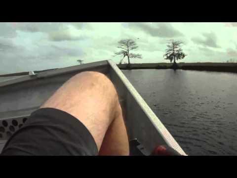 Air boat swamp tour, Christmas Florida, December 24, 2015  (STABIL-FILE0005)