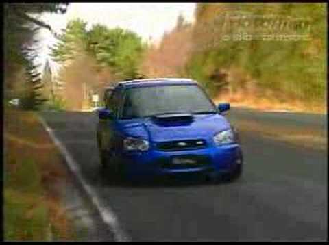 wrc car vs stock sti