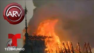 Catedral de Notre Dame devorada por un voraz incendio | Al Rojo Vivo | Telemundo