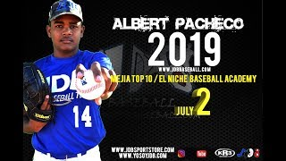 Albert Pacheco LHP 2019 Class from (Mejia top 10 & El Niche) Date video:21.04.2018