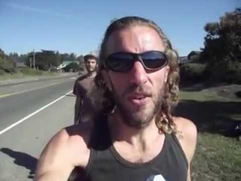 Hitchhiking the northern California coast