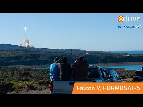 Трансляция пуска/посадки Falcon 9 (FORMOSAT)