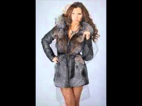 зимняя кожаная куртка с мехом женская - YouTube