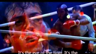Eye of the Tiger - Survivor (Rocky III) Lyrics