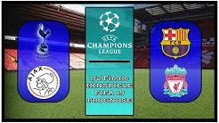 Champions League - Halbfinale [1/2-Finale] Hinspiele I FIFA Prognose I 2018/19 Deutsch [FULL HD]