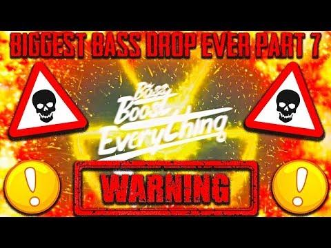 BIGGEST BASS DROP EVER! (EXTREME BASS TEST!!!) PART 7