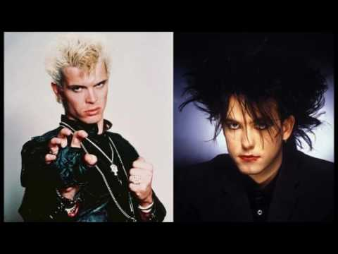 Billy Idol VS The Cure  Eyes Without A Lulla  MashUp