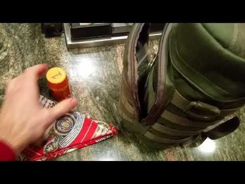 Maxpedition 12 x 5 bottle pouch review and my water kit