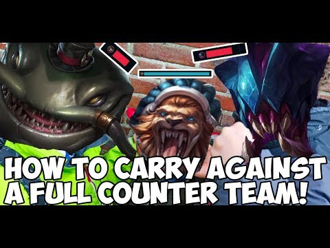 How to Carry Against A Full Counter Team!
