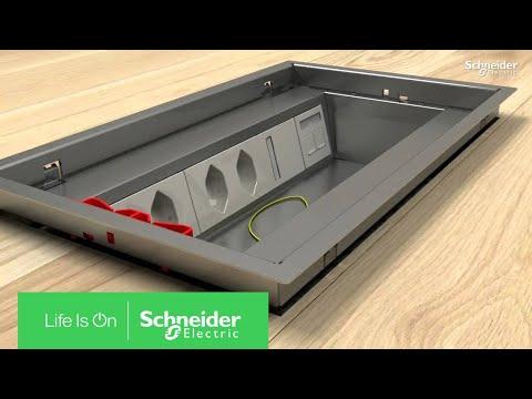 OptiLine 50 - Bodendose Mit Klappdeckel | Schneider Electric