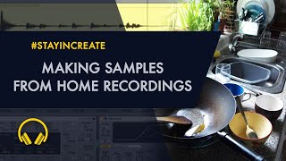 Making Samples from Home Recordings - Hi Hat and Mental Bass!