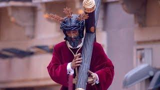 Salida del Cristo de los Gitanos en la Semana Santa de Madrid 2019