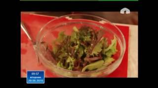 Рецепт полезного салата с тунцом