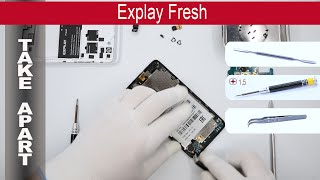 How to disassemble 📱 EXPLAY Fresh, Take Apart, Tutorial
