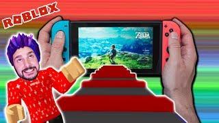Roblox: ENTKOMME AUS NINTENDO SWITCH! GEFANGEN BEI SUPER MARIO & ZELDA! Escape The Nintendo Switch