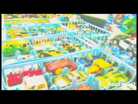 Adultswim Bump - Toy cars ( Commercial )