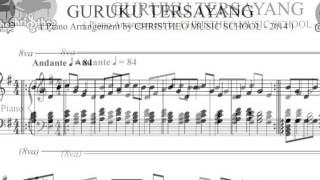 Christheo Music, Guruku Tersayang Solo Piano Arrangement