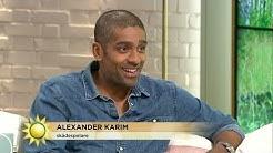 Alexander Karim om framgången i Hollywood - Nyhetsmorgon (TV4)