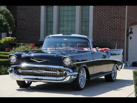 1957 chevrolet bel air convertible restomod classic muscle car for sale in mi vanguard motor. Black Bedroom Furniture Sets. Home Design Ideas
