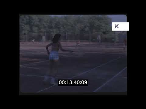 1970s Amateur Outdoor Tennis in HD from 35mm | Kinolibrary