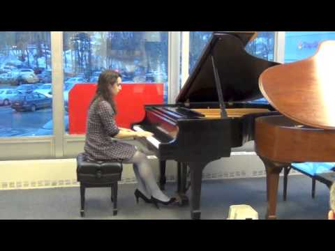MD MSW Recital 08FEB14, Chopin Waltz in A Minor, Op 34, No 2