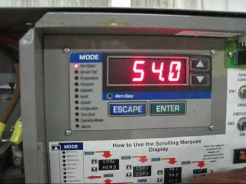 Genemcos 2004 Carrier Indoor Water Cooled Reciprocating Chiller 60 Tons