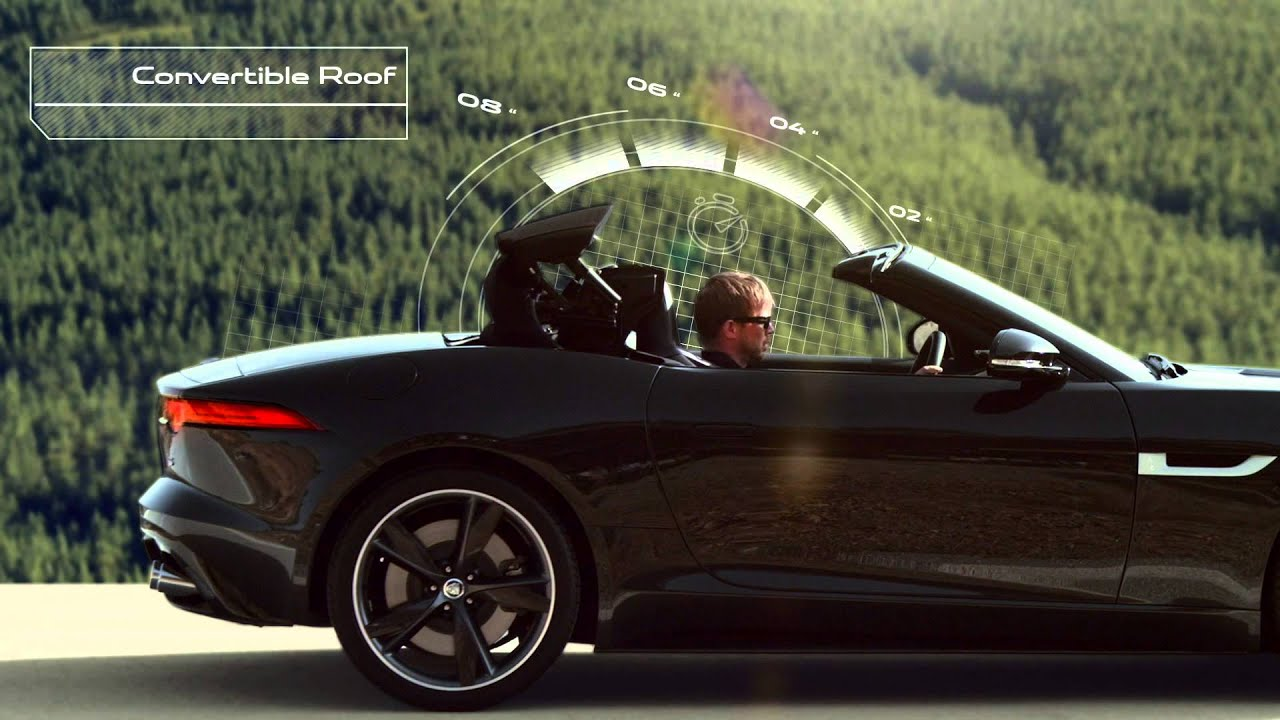 Amazing F TYPE COUPÉ CONVERTIBLE ROOF