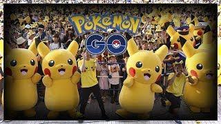 Mega Evento Pokémon Go no Brasil! Com seus Youtubers Favoritos!